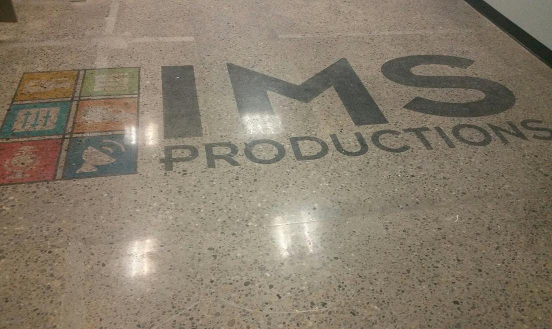 Logo on Floor - Buildout Pros