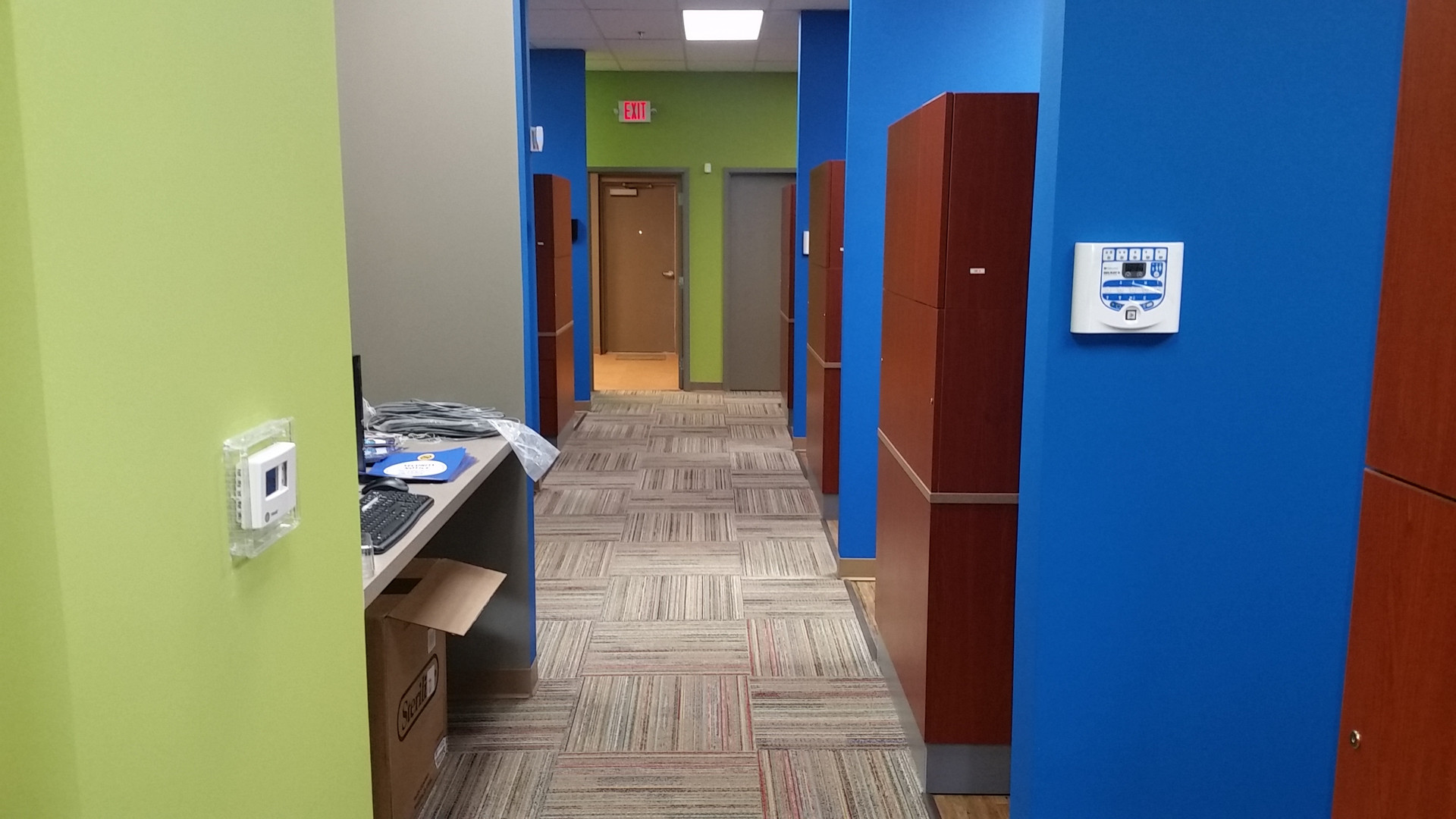 Exit Walk Way - Buildout Pros
