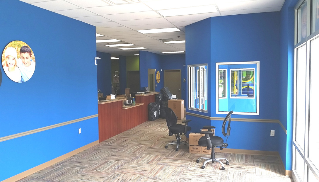 Walking In to Office - Buildout Pros