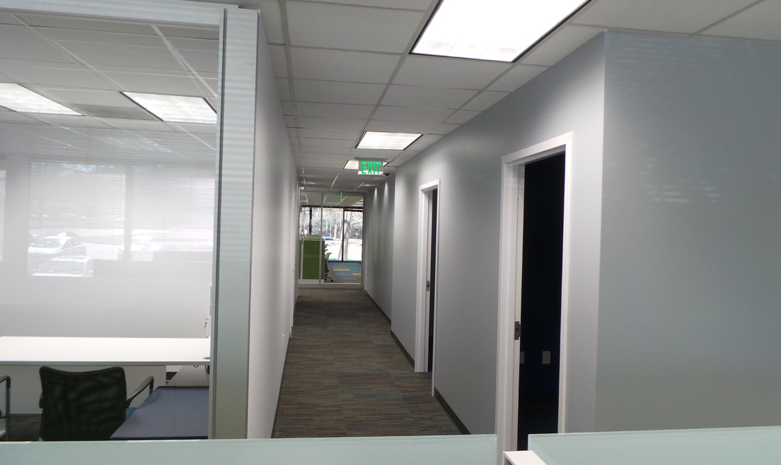 Walkway View from Desk  - Buildout Pros