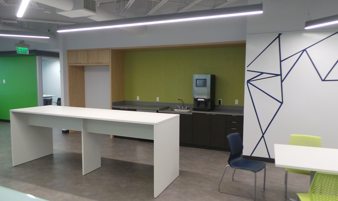 Gathering Area for Workers - Buildout Pros