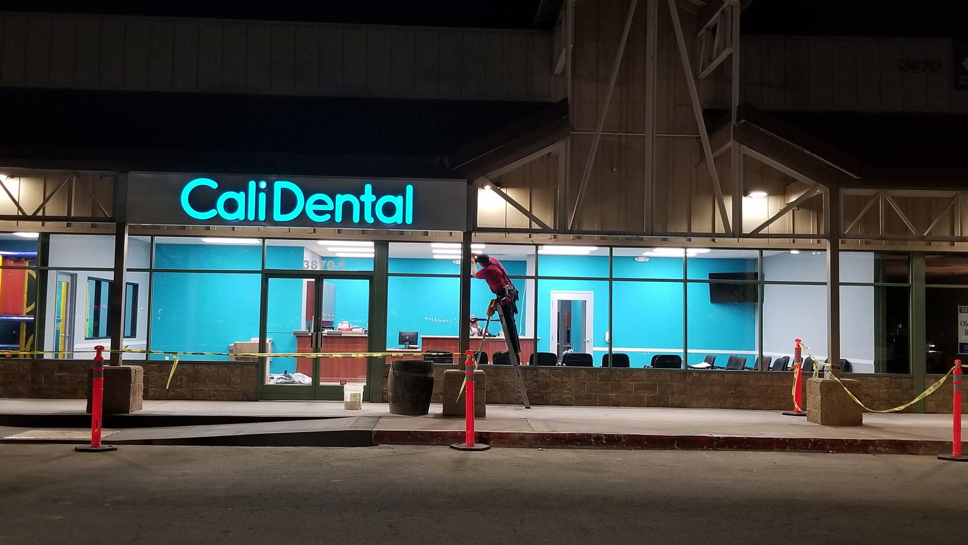 Cali Dental Front - Buildout Pros