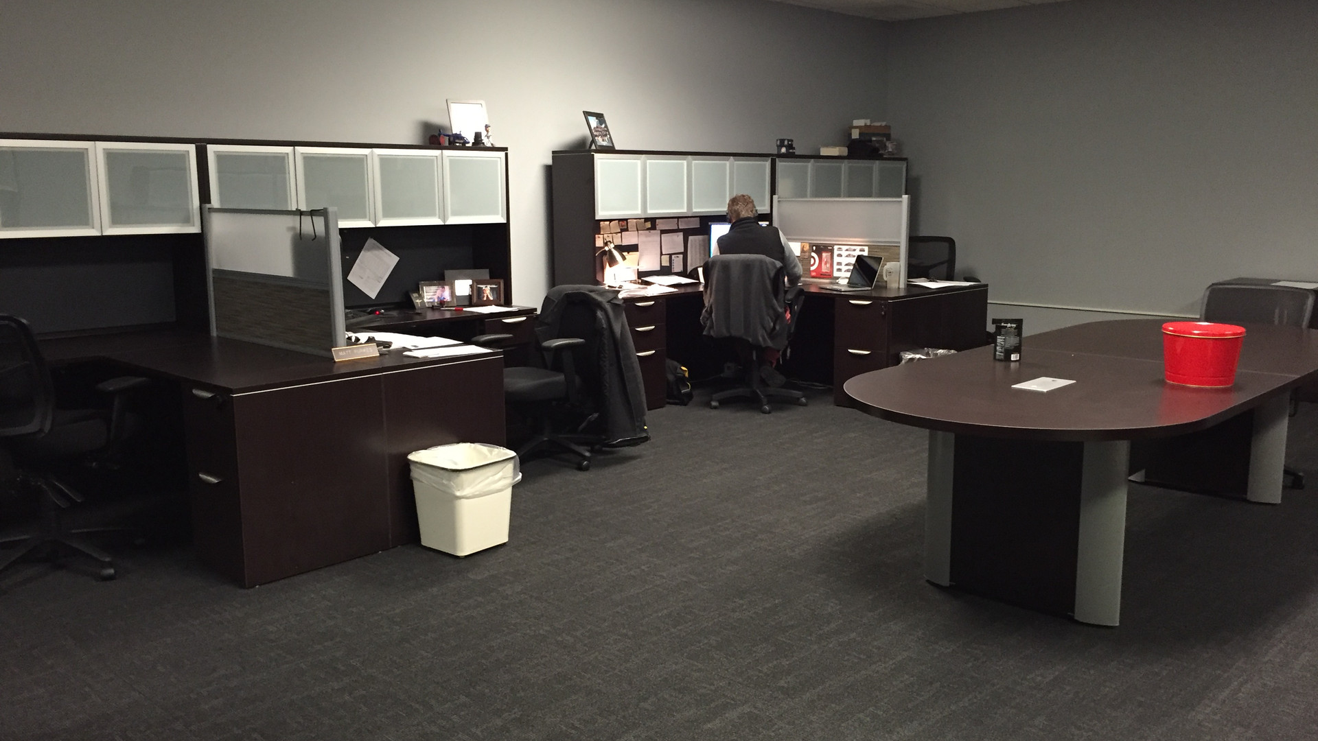 Open Area with Some Desks - Buildout Pros