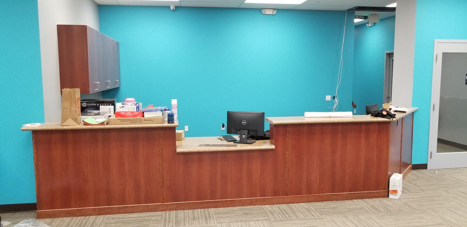 Front Desk - Buildout Pros