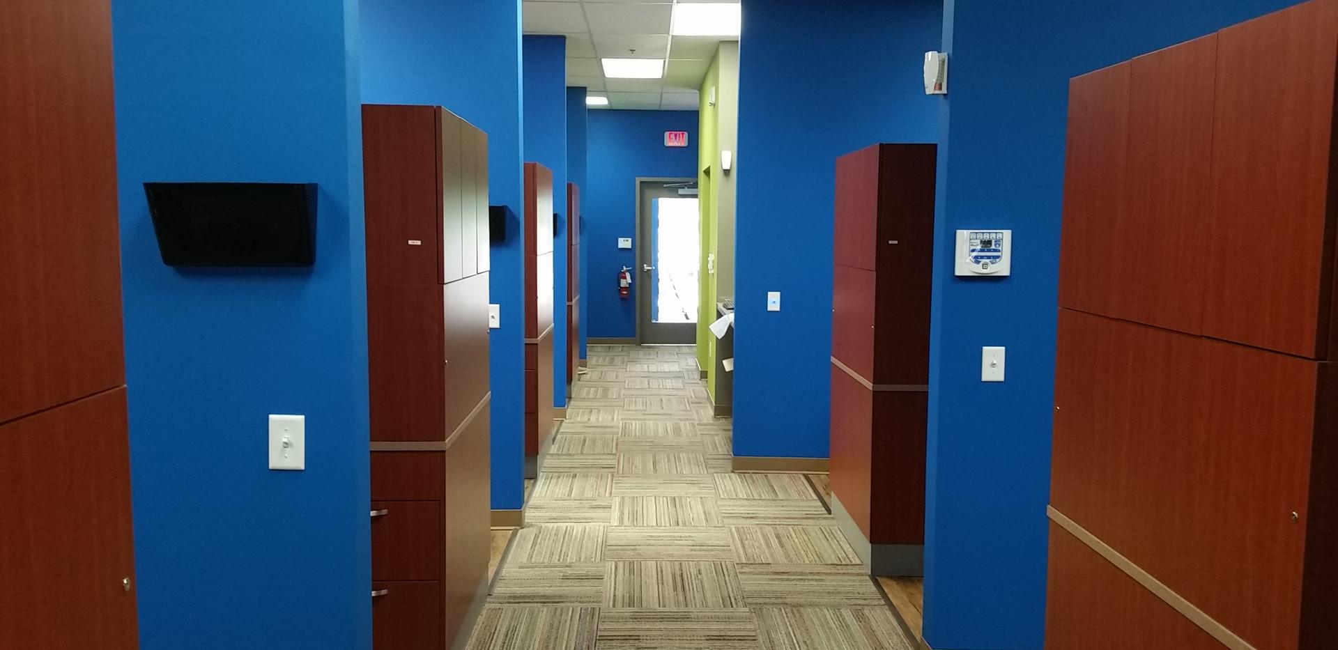 Dental Office Hallway - Buildout Pros