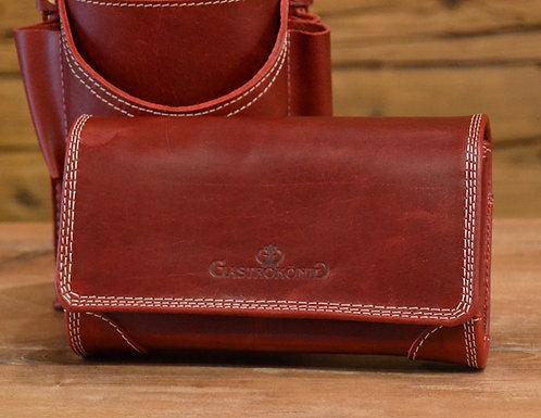 Rot Geldtasche