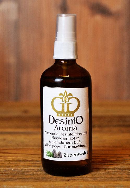 DesiniO Aroma - Desinfektionsmittel Zirbenwald 100ml