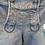 Thumbnail: Lederhose Damen Jeans