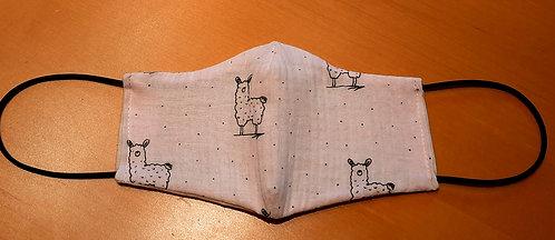 Mund-Nasen-Maske Alpaka
