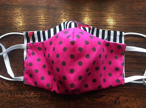 Mund-Nasen-Maske pink