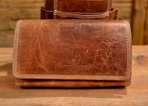 Braun Used Klassik Geldtasche