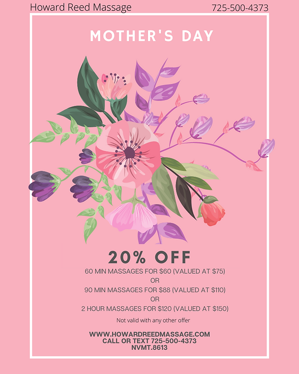 Pink Floral Happy Mother's Day Sale Flye