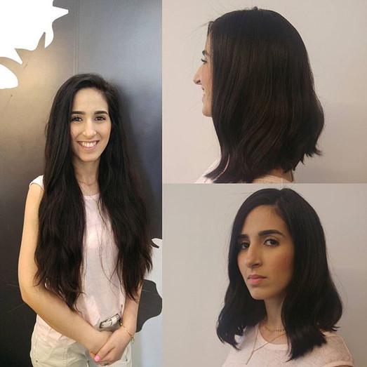 """שני הגיעה מניו יורק הרחוקה כדי לתרום מהשיער המהמם שלה כל הכבוד שן את אשש_""""#hair#change #hairstyle #instahair #hairstyles  #hairdo #hairofthe"""