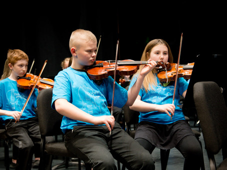Dorothy Gerber Strings Program Joins  The Great Lakes Center for the Arts