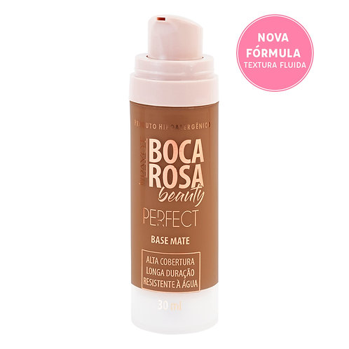 base matte hd boca rosa - 8 Fernanda