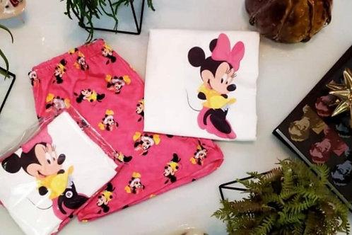 Pijama Minnie Rosa
