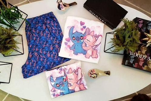 Pijama Lilo e Stitch Love