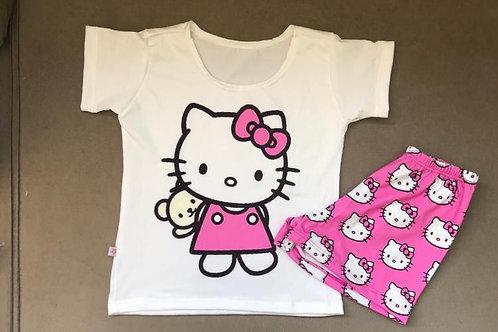 Pijama Hello Kitty Claro