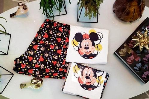 Pijama Mickey Preto