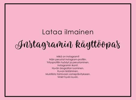 Instagramin käyttöopas