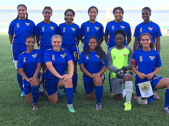 U17 Girls National Team 2017 Trinidad Wo
