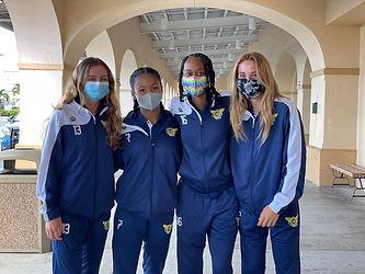 USVI Womens U20 National Team players