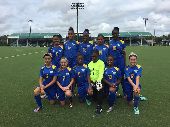 U15 Girls National Team 9.2016 in Orland