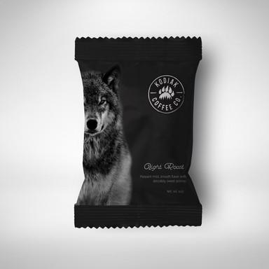 Kodiak Coffee Packaging wolf.jpg