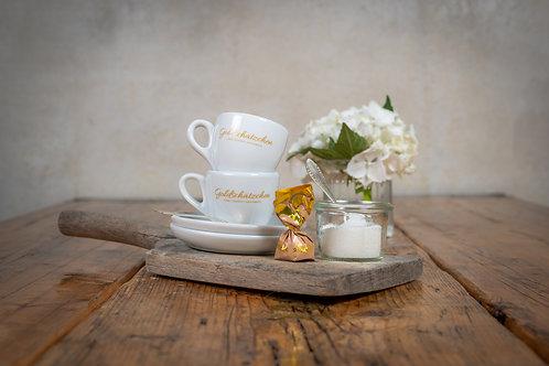 Goldschätzen-Espresso-Tassen