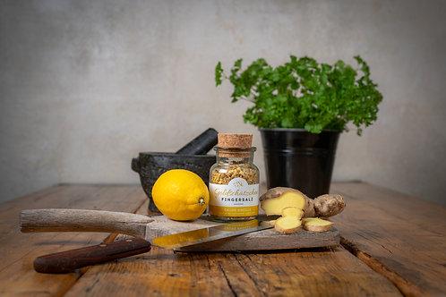 Saure Knolle - Fleur de Sel mit Ingwer und Zitrone