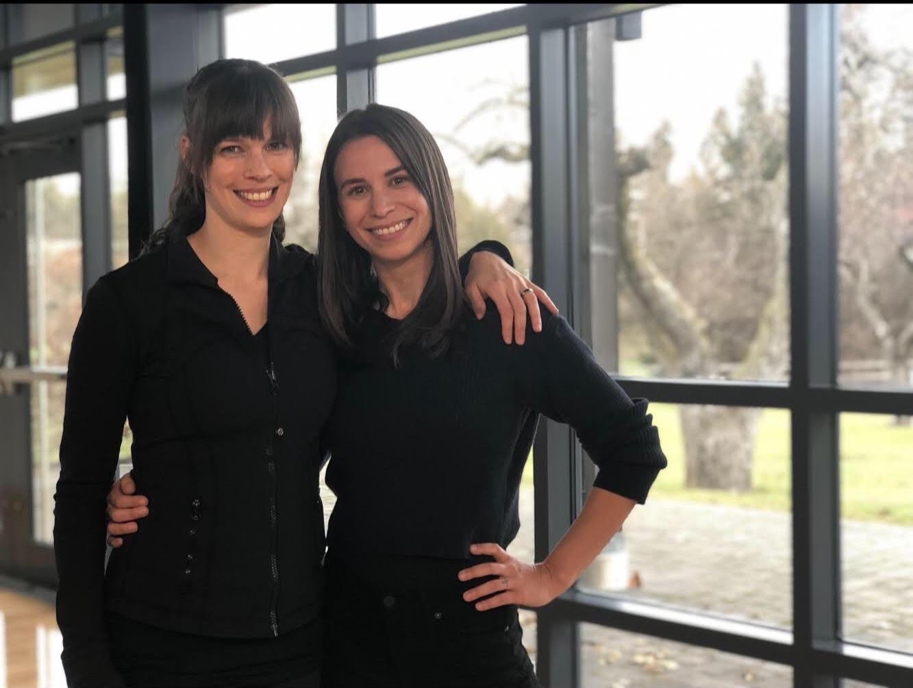 Casey Hudecki and Lindsay Somers - Photo by Alice Hopton CBC