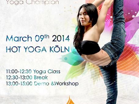 Workshop und Klasse mit ChauKei Stefanie Ngai - Yoga Champion 2013