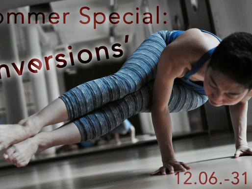 Unser Sommer-Kursblock - 'Inversions'