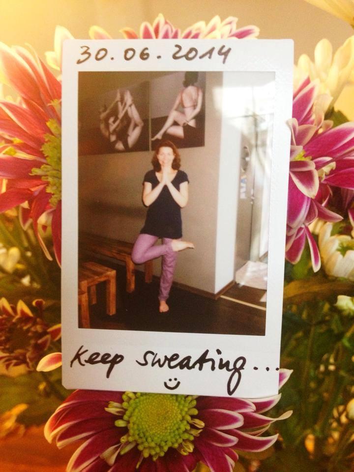 30 Tage Hot Yoga Challenge Jana