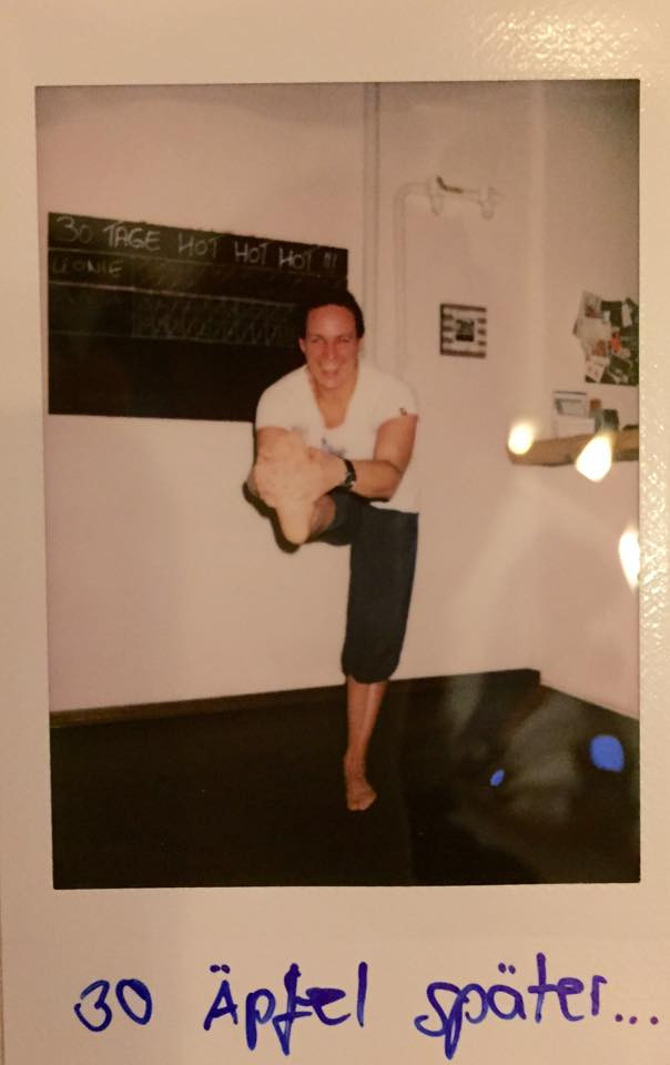 30 Tage Hot Yoga Challenge Anja