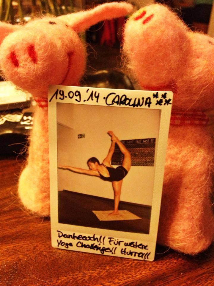 30 Tage Hot Yoga Challenge Carolina