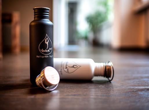 Yoga39°-Flasche - plastikfrei Wasser trinken
