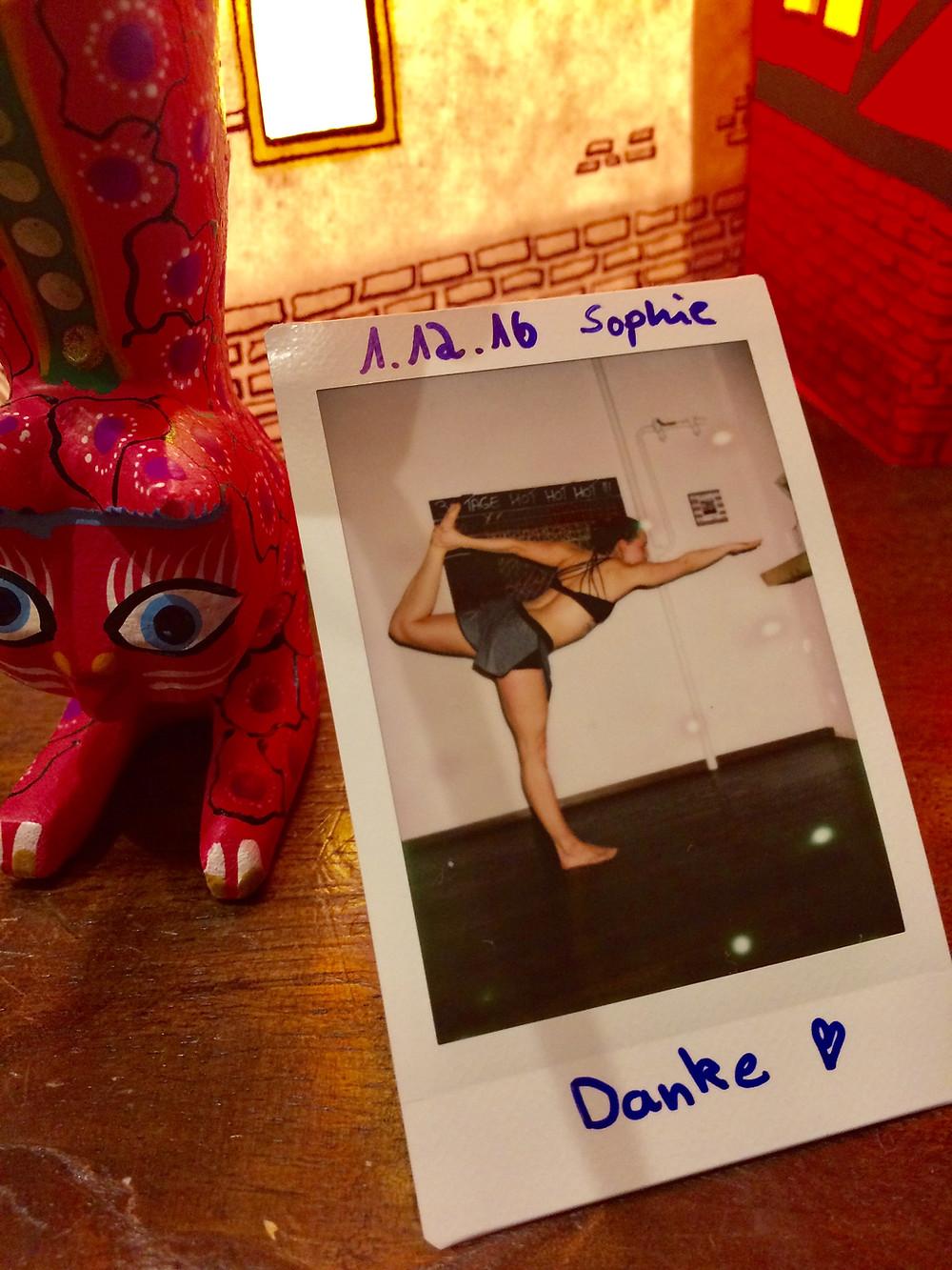 30 Tage Hot Yoga Challenge: Marta