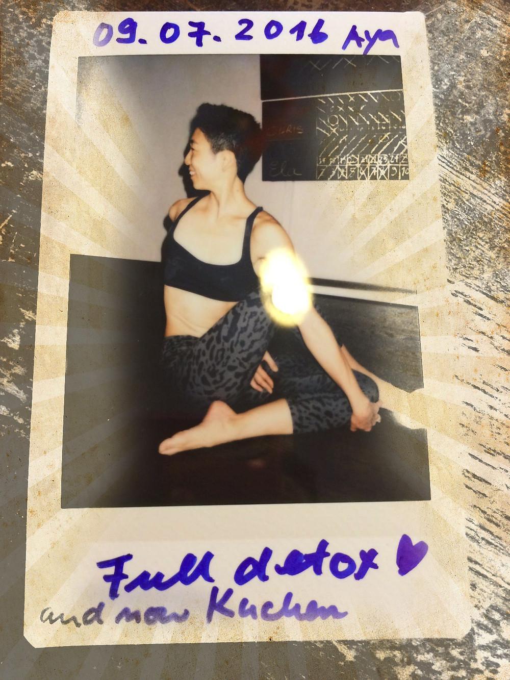 30 Tage Hot Yoga Challenge Aya