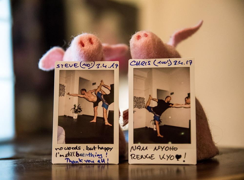 2x 100 Tage Hot Yoga am Stück: Steve und Chris