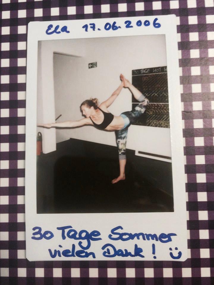 30 Tage Hot Yoga Challenge Ela Stolle
