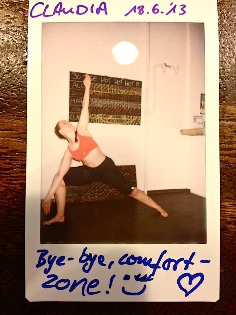 30 Tage Hot Yoga Challenge Claudia