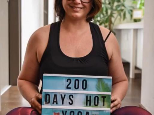 Hot Yoga Challenges!