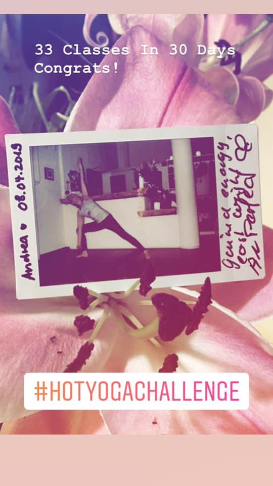 30 Tage Yoga Challenge #147 - Andrea