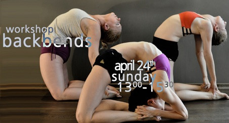 Workshop backbends am 24. April