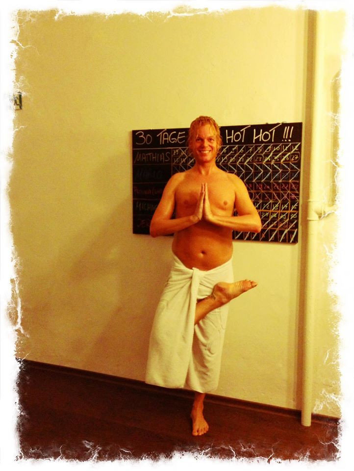 30 days hot yoga challenger Jerry