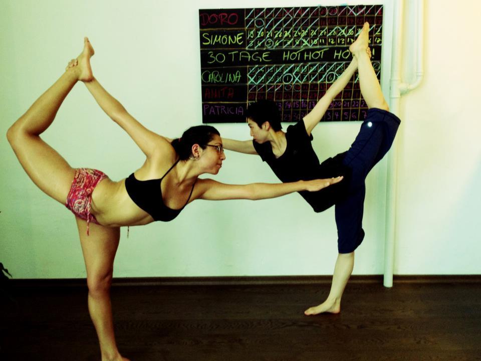 30 days hot yoga challenger Carolina