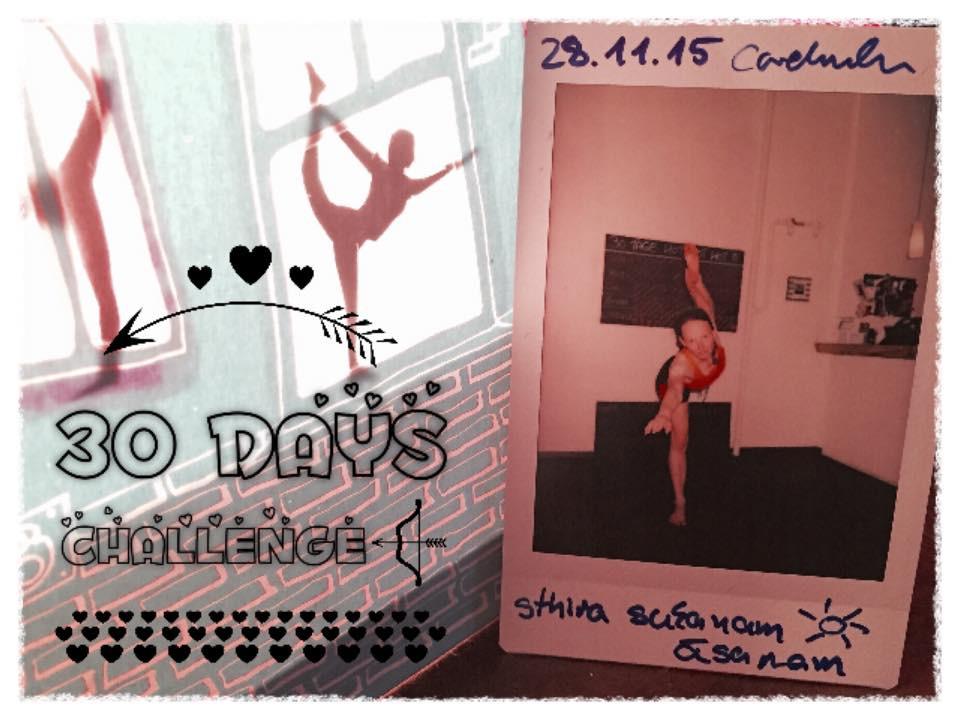 30 Tage Hot Yoga Challenge Cordula