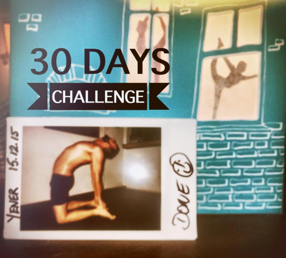30 Tage Hot Yoga Challenge Yener
