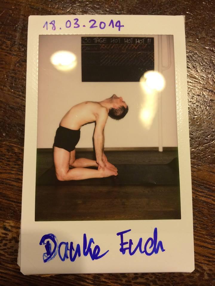 30 Tage Hot Yoga Challenge Matze